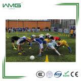 Nonfill anti UV Soccer Football Gazon synthétique de rouleau d'herbe