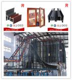 Profili di alluminio/di alluminio dell'espulsione per i servizi d'oltremare (RAL-578)