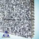 Le meilleur panneau de nid d'abeilles de marbre de granit des prix pour la décoration de pièce
