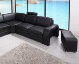 Sofá de couro 8050# da sala de visitas do sofá da alta qualidade