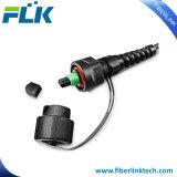 24 волокна IP67 MPO к кабелю заплаты оптического волокна IP67 MPO однорежимному водоустойчивому