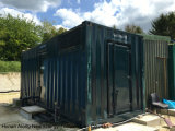 Containerized CHP van het Biogas van Cummins in het UK