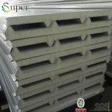 Pannello a sandwich d'acciaio dell'unità di elaborazione del poliuretano per la parete ed il tetto