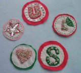 Handcraft Patches With Crystal