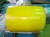 A cor revestiu a bobina de aço galvanizada PPGI para a telhadura do metal