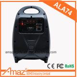 卸し売り中国の工場スピーカーはLEDライトが付いている無線トロリースピーカーを分ける