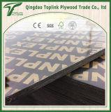 Negro/el Shuttering fenólico impermeable/madera contrachapada del infante de marina/del concreto de Brown para la construcción
