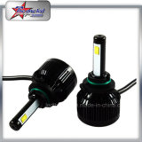 Single Beam 2 lados 360 ° Emitindo 9005 LED Auto Headlight