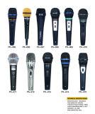 Microphone de condensateur de câble tenu dans la main portatif intelligent des prix satisfaisants mini pour KTV
