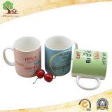 Tasse en céramique colorée de Yuanmei pour le cadeau promotionnel de lait de boissons pour le propriétaire