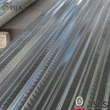 新しい建物によって押される電流を通された側面図を描かれた床のDeckingの鋼板