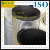 Tube d'isolation thermique de mousse de XPE avec le papier d'aluminium