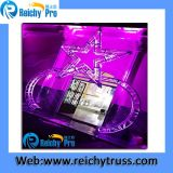 en el braguero de aluminio de la etapa del braguero del rectángulo del braguero de la iluminación de la venta