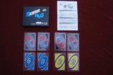 Cartões de jogo plásticos do jogo de cartão do PVC da ONU de Tranparent