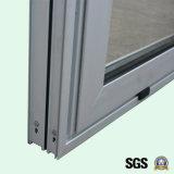 Finestra di scivolamento di alluminio della rottura termica rivestita della polvere di buona qualità K01066