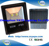 Luz de inundación de la MAZORCA 20W LED de la garantía de los años Ce/RoHS/3 de Yaye 18/reflector de la MAZORCA 20W LED/luz del túnel de la MAZORCA 20W LED