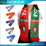 La Chine usine Custom bon marché de gros fan de football foulard (M-NF19F10010)