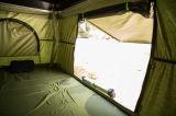 熱い販売のキャンプし、走行のための陸上の防水キャンバス車の屋根の上のテント