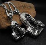 Taille des accessoires de mode d'acier inoxydable du pendant 316L de collier de la mort 2