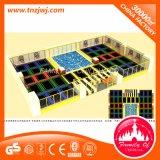 Het bedrijven BinnenTerrein van de Trampoline van de Apparatuur van het Vermaak voor Trampoline
