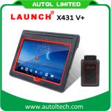 더하기 직업적인 본래 발사 X431 V+ WiFi/Bluetooth 글로벌 버전 가득 차있는 시스템 스캐너 자유로운 갱신 온라인 X-431 V+ X431 v