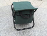 Popular Cooler Bag Camping Foldable Fishing Chair Stool (MW11016A)