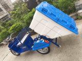 Grüner Energie-Reinigungs-Abfall-elektrisches Dreirad