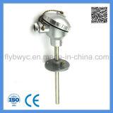 Industriequalität E Typ Montage-Thermoelement mit beweglichen Flansch 0-600c