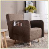 Durmiente convertible de los muebles de Microfiber del dormitorio de la sala de estar de la base de sofá del sofá