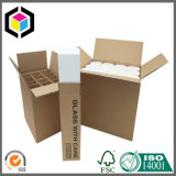Rectángulo de empaquetado de papel ranurado regular fuerte de la cartulina del Rsc del cartón