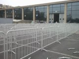 Barrera temporal del control de muchedumbre de la construcción retractable Fencing/PVC