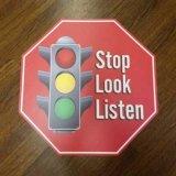 Uso visivo facile e flessibile di messaggio per molti autoadesivi su ordinazione delle decalcomanie del pavimento di situazioni