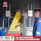 4-rij een Kooi van de Laag van het Gevogelte van het Type voor Nigeria (a-4L120)