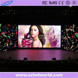 Pared video al aire libre/de interior de la pantalla de visualización de LED del alquiler para la etapa/hacer publicidad (P3.91, P4.81, P5.95, P6.25)