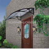 Pabellón material de la lluvia de Sun del toldo plástico de plata del ala con la tira de aluminio media (hoja 800Hollow)