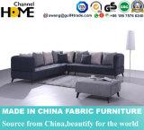 Nordisches modernes Wohnzimmer-Gewebe-Sofa für Hauptmöbel (HC569)