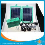 nécessaires solaires de l'éclairage 5W avec 3W DEL