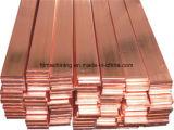 Barra plana de cobre