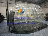 Aufblasbares transparentes Ellipse-Zelt
