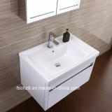 光沢度の高いステンレス鋼の浴室の家具の虚栄心のキャビネット(076)