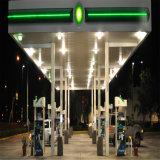 Costruzione della stazione di rifornimento di carburante del metallo con il basso costo