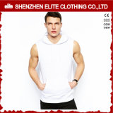 Uomini su ordinazione Hoodie Sleeveless (ELTHSJ-1111) di ginnastica di Bodybuilding