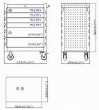 27 Module de rouleau de tiroir de pouce 6 ; Module d'outil