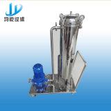 Equipamento dos filtros de saco do mícron dos PP do aço inoxidável com a bomba para produtos comestíveis e bebidas