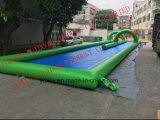 300 metros Slip N Slide Diapositiva inflable de la ciudad