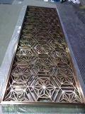 Tela enorme do painel da divisória do CNC para a parede decorativa da fachada