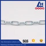 Ordinaire en acier zingué doux moyen de la chaîne de liaison