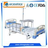 Zwei reizbare Qualität und billiges manuelles Krankenhaus-Bett
