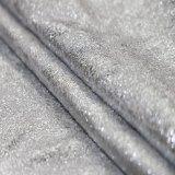 Spandex, der strickendes Veloursleder-Gewebe für Kleid-Schuh-Kleid bronziert