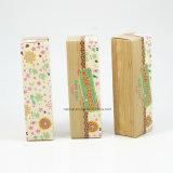 Rectángulos de papel de empaquetado del cosmético de alto nivel de encargo